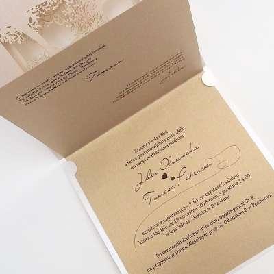 Partecipazioni Matrimonio 2018.Partecipazione Matrimonio Laser F1417 Partecipazioni Matrimonio