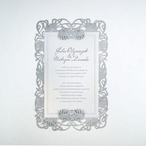 Partecipazioni Matrimonio Julia.Partecipazione Matrimonio Laser F1431s Partecipazioni Matrimonio