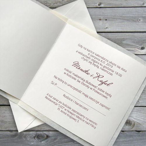 Scritta Partecipazioni Matrimonio.Partecipazione Matrimonio Moderno Fc051172 Partecipazioni