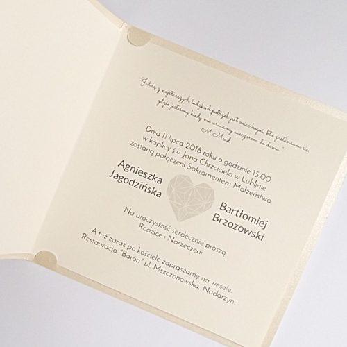 Partecipazioni Matrimonio Moderne.Partecipazione Matrimonio Moderno F1428tz Partecipazioni